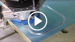 How to avoid a poor finish when cutting aluminum on a CNC Router