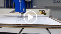Extensive Range of Knife Tools with the Trident CNC Router-Knife Hybrid