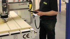 AXYZ Router Helps Double Production at Porter & Woodman