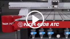 Pacer Series CNC Router video