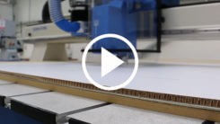 Trident series CNC Router cutting xanita video