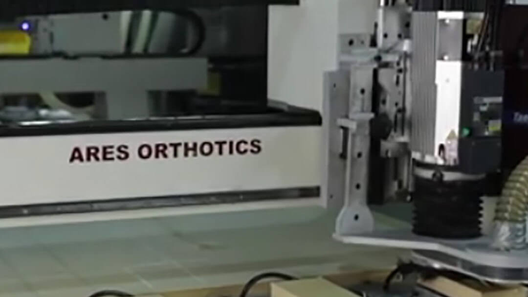 Ares orthotics purchase an AXYZ CNC Router